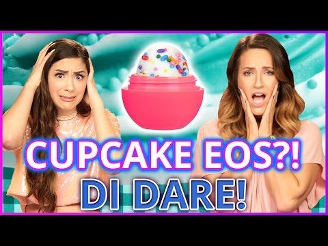 DIY CUPCAKE EOS?! Di-Dare w/ Cassie Diamond & Adrienne Finch