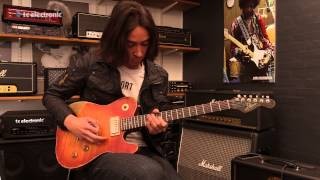 "Mark Holcomb (Periphery) comes to TC Electronic and creates his ""Ge..."