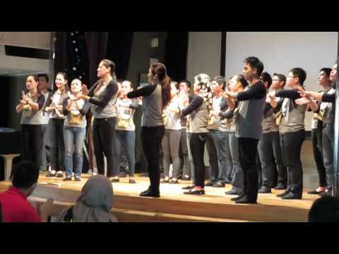 SSEAYP 40 - We are unity - Sign language