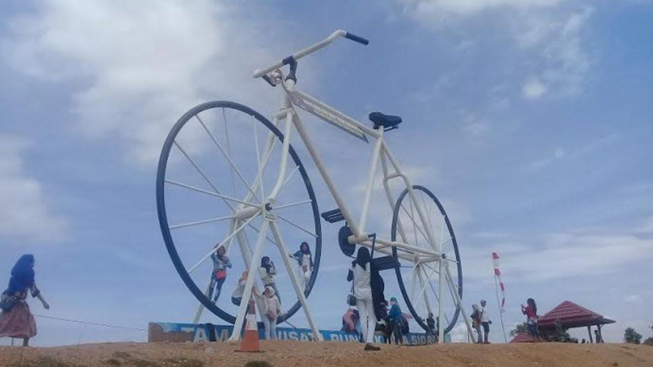 Hadirkan Sepeda Raksasa, Taman Wisata Puncak Bila Jadi Destinasi Favorit di  Sidrap