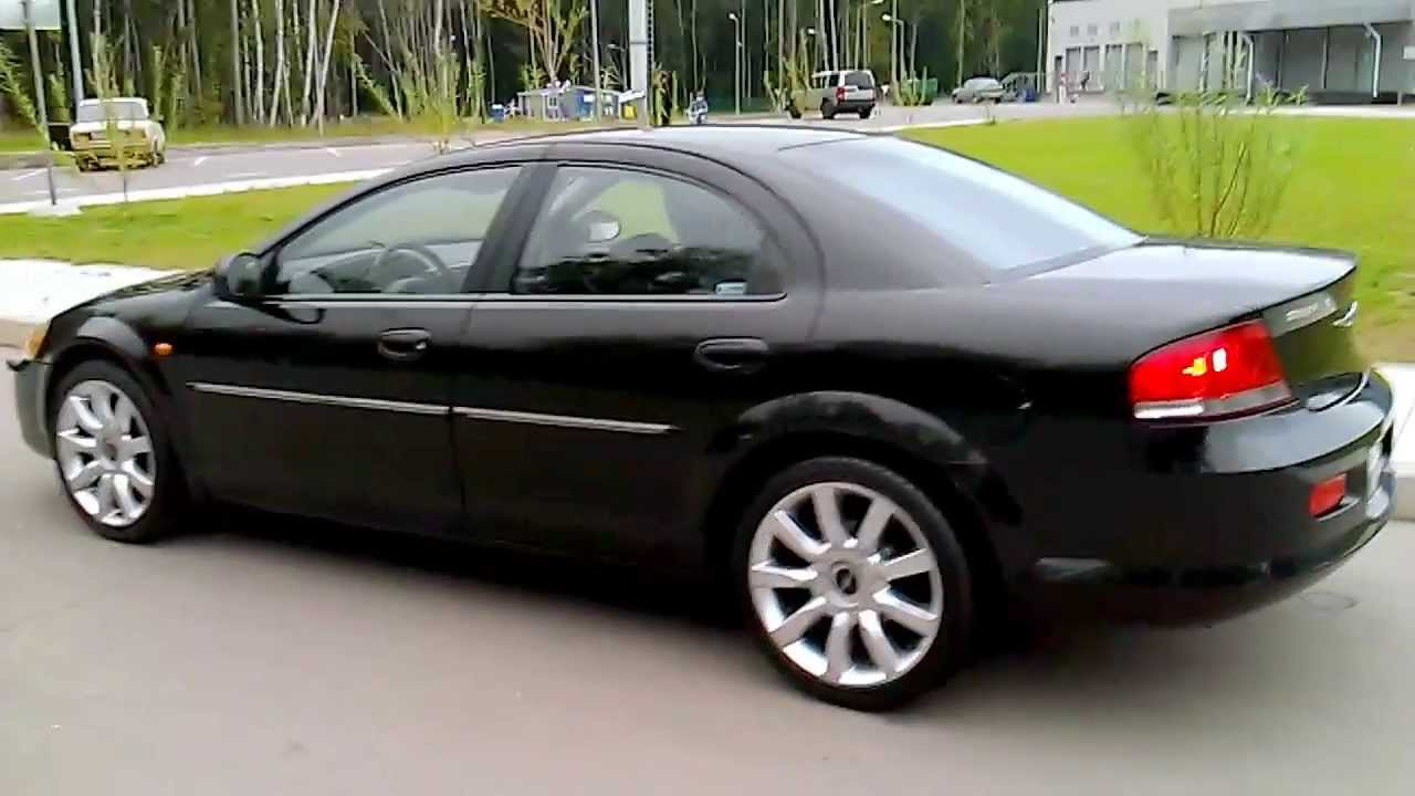 Video Chrysler Sebring Sedan 2003 2 0i 16v 141 Hp
