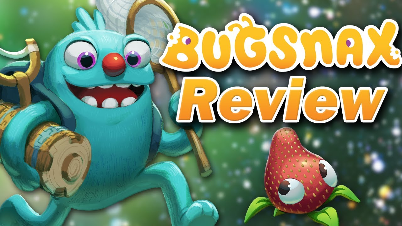 Bugsnax Review (PS4, PS5, PC) (Video Game Video Review)