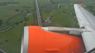 Easyjet A320 (Interim Livery) Glasgow to London Stansted *Full Flight*