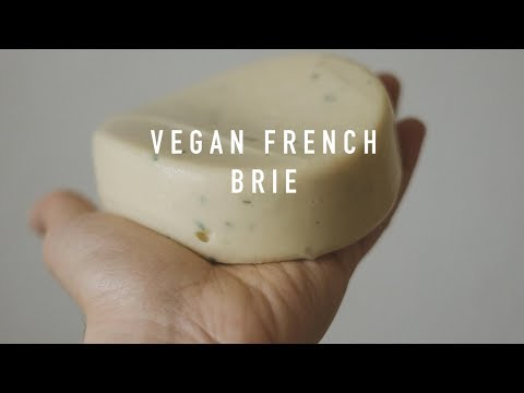 Vegan French Brie (Soft Cheese)