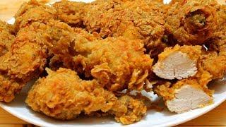 بروستد الدجاج مثل كنتاكي أصدق و أفضل طريقة على اليوتيوب