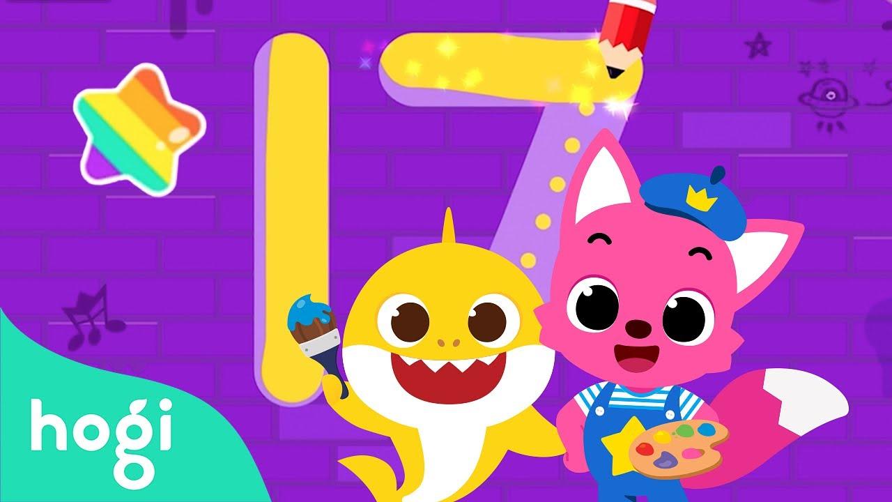 Pinkfong Tracing World | Kids App | Pinkfong Game | Pinkfong Kids App Games