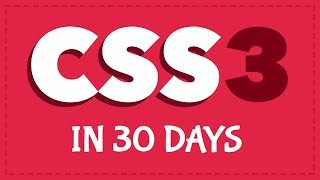 How to create 30 projects in 30 days with CSS3! [Free Coding Challenge]