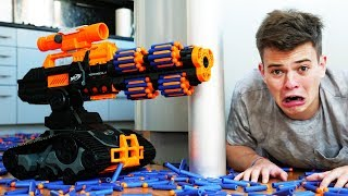 NERF WAR TANK BATTLE