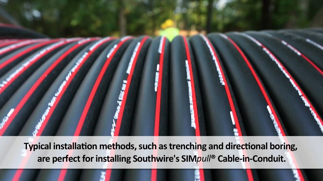 Southwire Simpull Cable In Conduit
