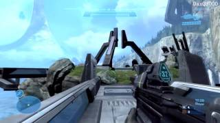 Halo: Reach Multiplayer HD Gameplay Part 1 - Rumble Pit | DanQ8000