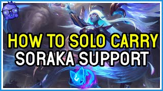 See this SORAKA legit CARRY a 3 minute teamfight - League of Legends