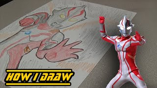 This is a revision to my older Ultraman Mebius art previously done ...