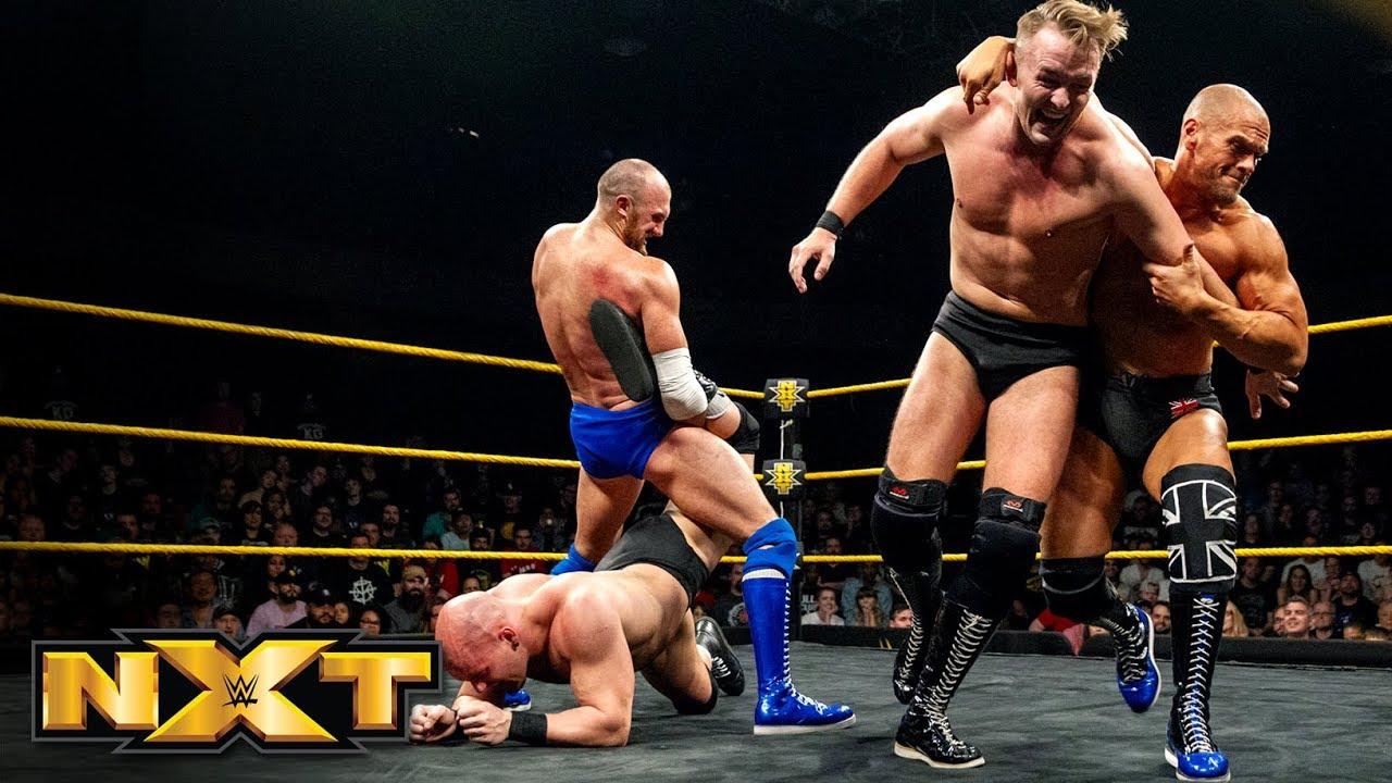 Oney Lorcan & Danny Burch vs. Fabian Aichner & Marcel Barthel: WWE ...