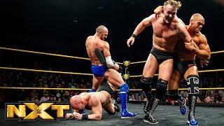 Oney Lorcan & Danny Burch vs. Fabian Aichner & Marcel Barthel: WWE NXT, Jan. 23, 2019