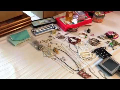 Garage sale haul, thrift haul, jewelry haul, video game haul #29 (June 29, 2016)