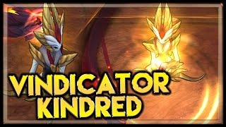 Shadowfire Kindred - Skin Spotlight - League of Legends Shadowfire Kindred LoL