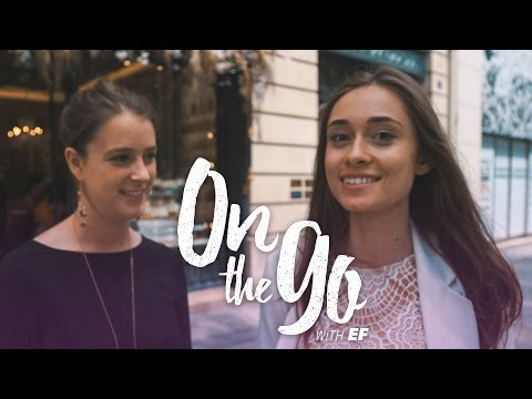 Maria & Philippine go luxury window shopping in Paris – On the go with EF #10