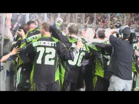 NLL: Saskatchewan Rush celebrate 2016 Champion's Cup title