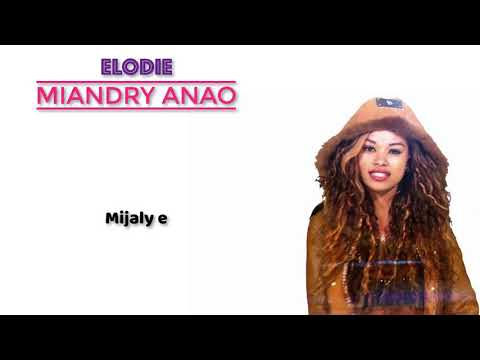 elodie Miandry anao lyrics