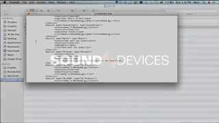 Editing Sound Devices 633 / 664 Settings Files