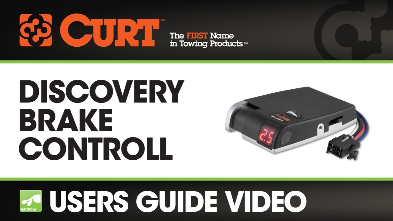 hight resolution of curt discovery brake control users guide
