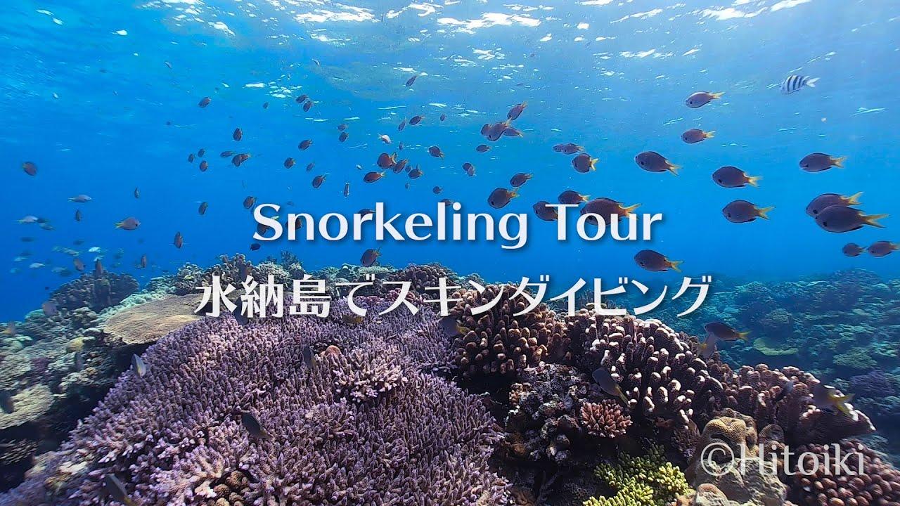 Snorkeling Tour to Diving Site Minnajima Island   シュノーケリング@水納島