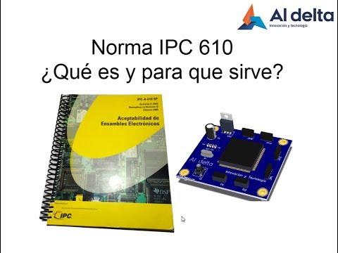 IPC A 610 Aceptabilidad De Ensambles Electrónicos