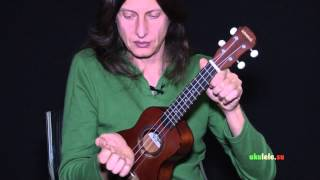 Basic Samba stroke on Ukulele (Lesson-1) основы ритма