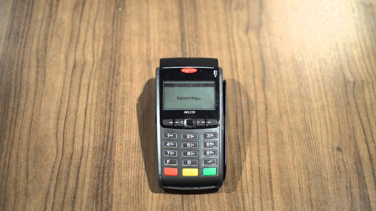 ict220 credit card machine