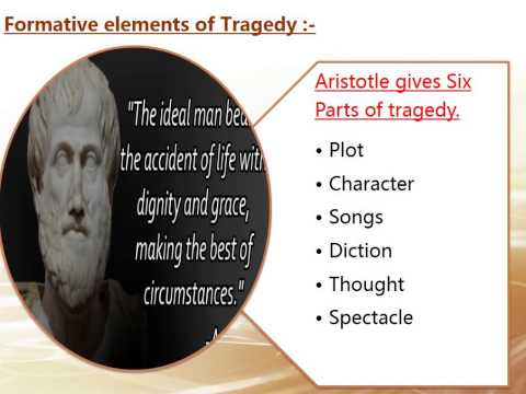 an analysis of tragedy defined by aristotle Definition of tragedy according to aristotle's for it has so many shades that it actually defies a logical analysis aristotle defined tragedy as a.