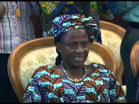 Mrs Martha Pobee, Ghana's Ambassordor and Permanent Representative to the UN sworn into office