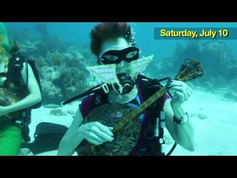 Underwater Music Festival Held In The Florida Keys Feels Like Something Out Of 'The Little Mermaid'