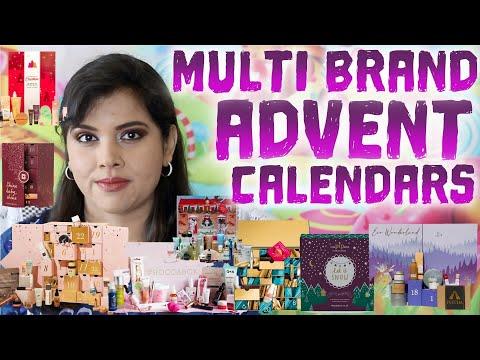 35+ Multi-Brand Beauty Advent Calendars Of 2020 Round-Up