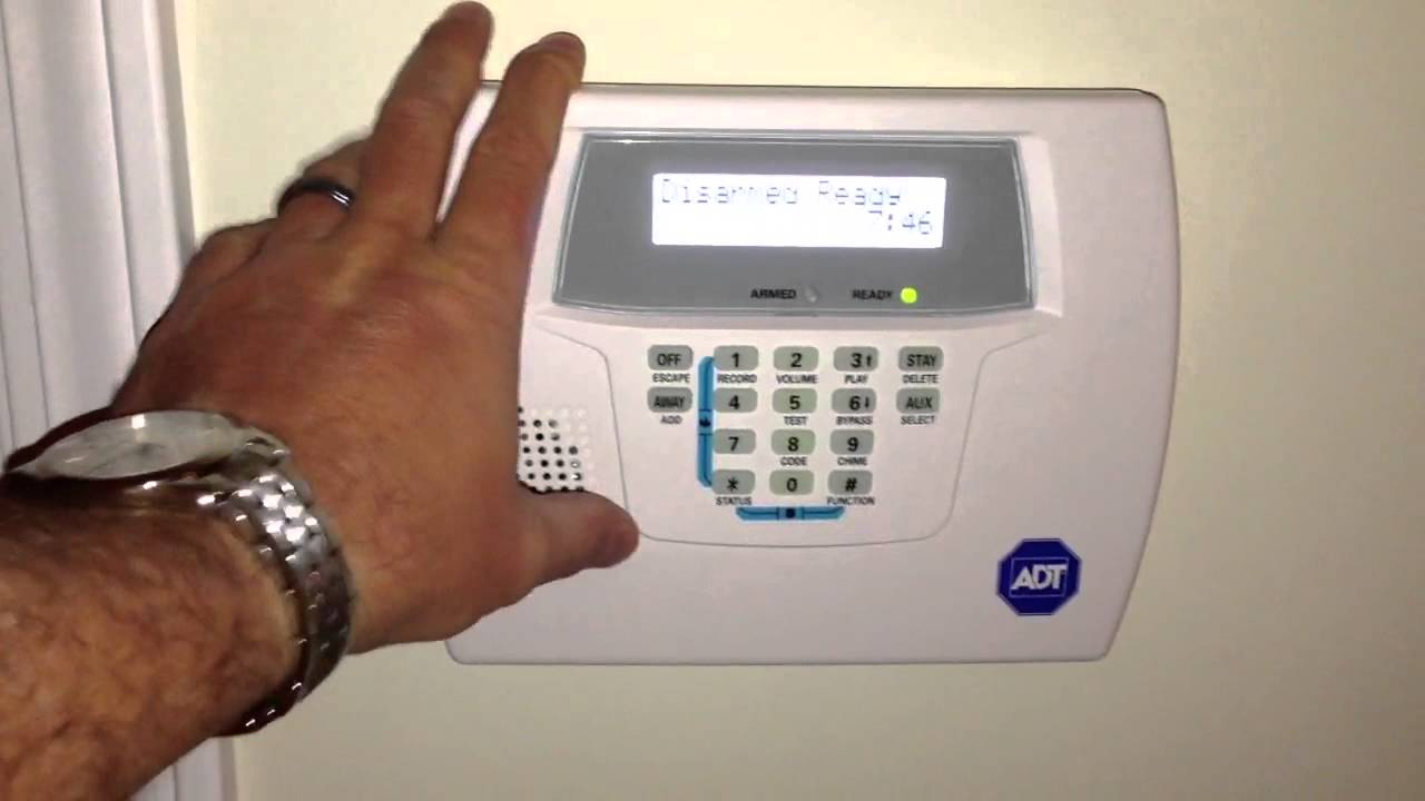 Adt Security Panel