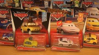 Mattel Disney Cars 2017 Case R Wilmar Flattz PT Flea Lil Torquey Pistons Alloy Hemberger Unboxing
