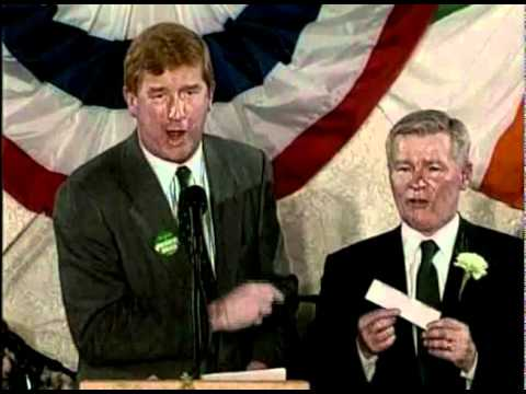 Bill Bulger And Governor Weld Joking About Whitey