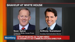 Spicer Resigns as Scaramucci Joins Trump White House