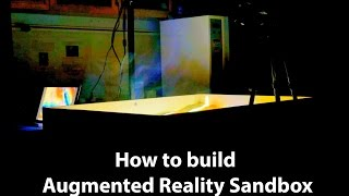 Hoe het bouwen van Augmented Reality Sandbox ✔ AR Sandbox Eps. 1