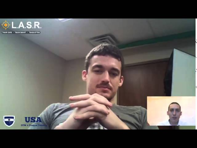 Interview with John Wallace About LASR – Laser Simulated Firearm Training Software