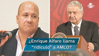 Así lo señaló el gobernador de Jalisco, en referencia al mensaje del presidente López Obrador contra la FIL Guadalajara. Alfaro participó en la inauguración de la Feria Internacional del Libro