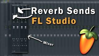 Reverb Send Channel Setup in FL Studio (Tutorial)