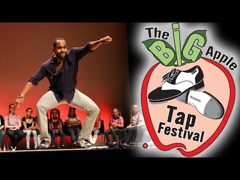 The Big Apple Tap Festival 2016 - Master Faculty: Jason Bernard
