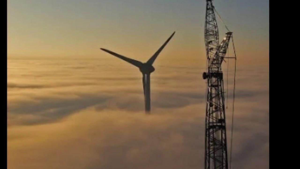 Самый большой ветрогенератор в мире. Энеркон E-126. Крупнейший ветрогенератор в мире