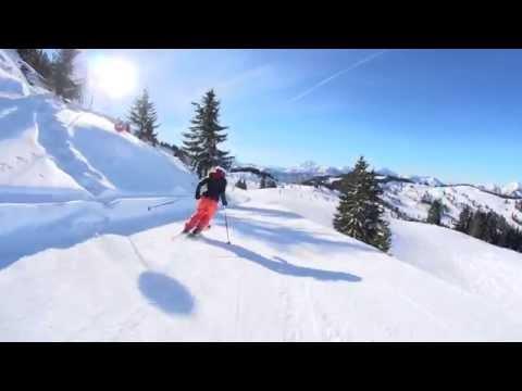 Piste de ski Sautenailles - Les Gets