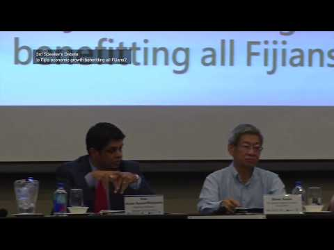 "3rd Speaker's Debate - ""Is Fiji's economic growth benefitting all Fijians?"""
