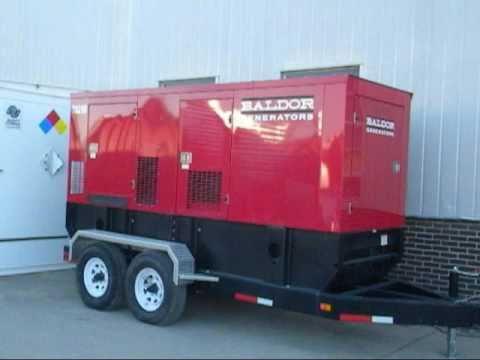 Used- Baldor Model TS250T Mobile 200kW Diesel Generator Set - Stock# 41995001