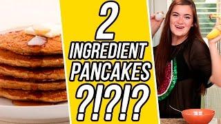 Cloecouture's 2 Ingredient Banana Pancakes!   3 Items Or Less