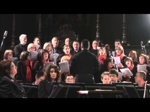 Coro Tre Ponti - Qual bimbo é questo - Concerto di Natale a Castelletto Ticino - 19 dicembre 2009