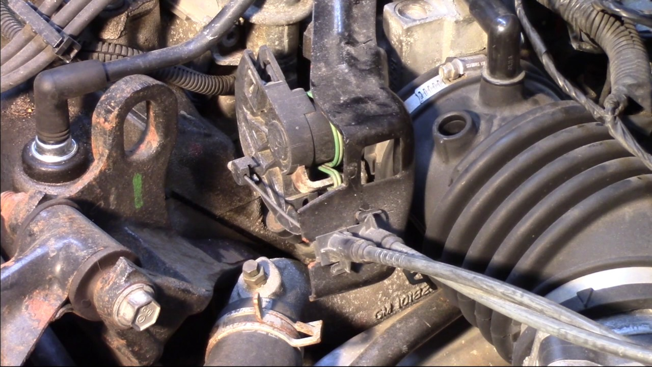 Ambient Air Temp Sensor Replacement - GM 3100 - YouTube