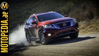 2014 Nissan Pathfinder Review -  تجربة نيسان باثفايندر - Dubai UAE review by Motopedia.ae